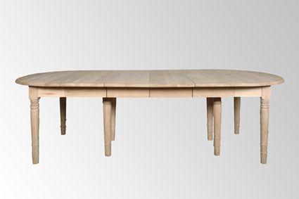 Table de salle a manger for Table ovale avec rallonge salle a manger